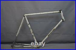 1974 Peugeot Record Du Monde PA10 Road Bike Frame 64cm XL France Steel Charity