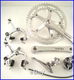 1980s Shimano DURA ACE Group Groupset 6-Speed 7400 Crank Brakes Road Bike (KO)