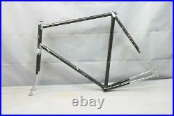 1985 Miyata Vintage Touring Road Bike Frame 63cm X-Large Lugged Steel US Charity