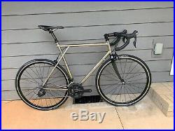 1996 58cm GT Edge Ti Titanium Road Bike Shimano 105 5800 Chris King Thomson