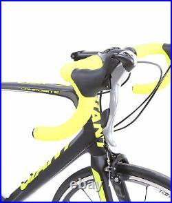 2014 Giant Defy Composite 3 Road Bike 2 x 10 Speed Shimano Tiagra M/L 53.5 cm