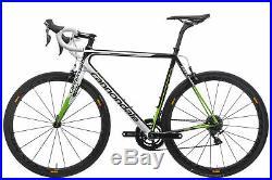 2015 Cannondale SuperSix Evo Hi-Mod Dura-Ace Road Bike 56cm Large Shimano 11s