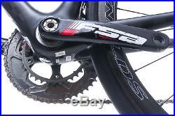 2015 Felt F1 Road Bike 56cm Large Carbon Shimano Ultegra Di2 Stages Reynolds