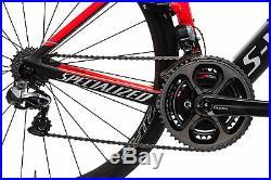 2016 Specialized S-Works Venge Vias Road Bike 49cm Carbon Shimano DA Di2 Quarq