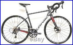 2017 Cervelo C3 Carbon Disc 2 x 11s Road Bike 54cm Shimano 105 Mavic Endurance