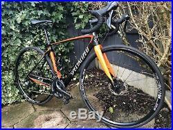 2018 Specialized Roubaix Carbon Disc Road Bike 52cm Shimano Ultegra Groupset