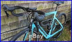 2019 BIANCHI ARIA E-Road Carbon Electric Assist Bike Shimano Ultegra 11 55cm