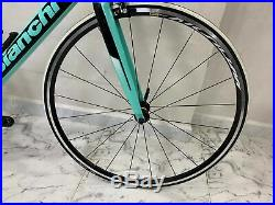 2019 Bianchi Sempre Pro carbon road bike Shimano Ultegra size 55