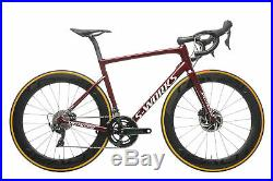 2020 Specialized S-Works Tarmac Disc Road Bike 56cm Carbon Shimano Dura-Ace 9100