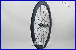 25mm width 50mm Clincher U Shape Bike Wheels 700C Carbon Road Bicycle Wheelset