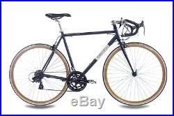 28 Zoll RENNRAD FAHRRAD RAD CHRISSON VINTAGE ROAD 1.0 mit 14G SHIMANO schwarz