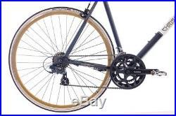 28 Zoll Rennrad Urbanrad Fahrrad Vintage Road 1.0 mit 14G SHIMANO A070 schwarz