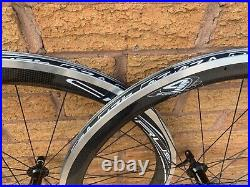 4ZA Cirrus 45 Carbon 700C Road Bike Wheels Shimano RS400 Hubs incl PMC Wheel Bag