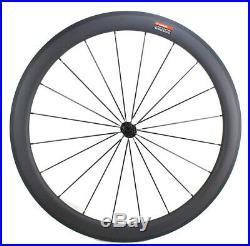 50mm Clincher Carbon Bicycle Wheels R13 Hub 700C 25mm width Road bike Wheelset
