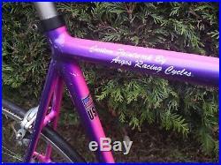 650c Vintage CANNONDALE R500 custom retro road bike 53/55.5 Argos paint, Shimano