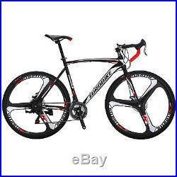 700C Road Bike Shimano 21 Speed Bicycle 54cm Disc Brakes Cycling men's bikes
