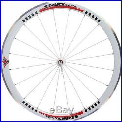 700C Stars Deep V Road Bike Wheels Wheelset Shimano 8/9/10