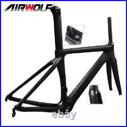 700C cycling carbon road bike frame 48-56cm racing bicycle framesfork/seatpost