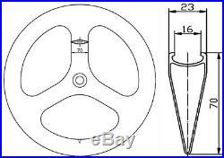 70mm Tri Spoke Carbon Wheels Road/Track Bike Wheelset Clincher 700C Bicycle Bike