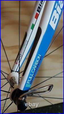 7,5 kg! BIANCHI INFINITO CARBON Rennrad Shimano Ultegra Roval Fusee Roadbike