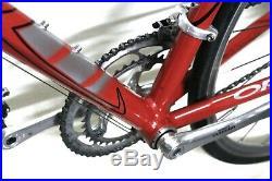 9.4kg 56cm Half Carbon Orbea Zeus Road Racing Bike Shimano Ultegra Mint Red STI
