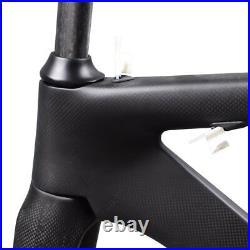 AIRWOLF Aero Carbon Frame Road Bike Cycling Racing Frames Bicycle Frameset 700C