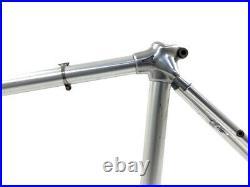 Alan Super Record 49 cm 28/700C Road Racing Bicycle Silver Aluminum Frame
