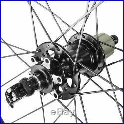 Alexrims 700c Road Bike Carbon Disc Brake Wheelset For Sram Shimano 11 Speed