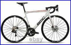 BMC TEAMMACHINE SLR02 DISC ONE 47 WHT/BLK/RED Race Carbon Bike 2019 Shimano