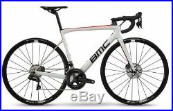 BMC TEAMMACHINE SLR02 DISC ONE 54 WHT/BLK/RED Race Carbon Bike 2019 Shimano