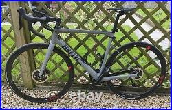 BMC Teammachine SLR Disc Carbon Road Bike Shimano 22 speed Size 56 Large Grey
