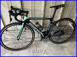 Bianchi 2018 model ARIA SHIMANO 105 size 47 inch black body Road bike