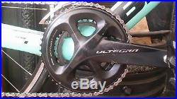 Bianchi Aria 2018 Aero Road Bike 50cm Carbon Shimano Ultegra R8000 11 speed