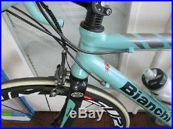 Bianchi Giro road bike 53 cm Carbon Fork & Stays Carbon Wheels Shimano Etc