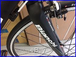 Bianchi IMPULSO, Shimano105 10X2 speed. Road bike. NEW. 61cm. Black