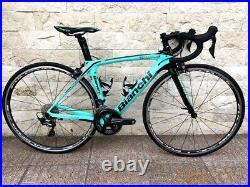 Bianchi OLTRE XR3 47 XS carbon road bike Shimano ULTEGRA R-8000 Fulcrum xr2 xr4