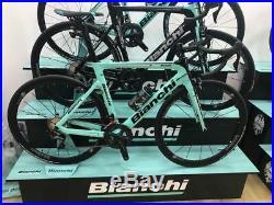 Bici Road Bike Bianchi Aria Shimano Ultegra 11sp Ruote Vision Team 35 Size 53