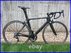 Blue AC1 road bike with SHIMANO DURA ACE Di2 groupset