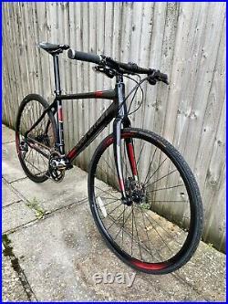 Boardman Hybrid Pro Road/Gravel Bike Medium Shimano 105 Carbon Forks