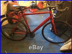 Boardman road comp disc racing bike shimano sora Large