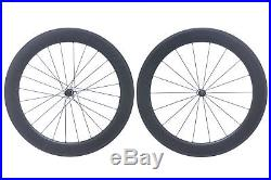 Bontrager Aeolus 7 Road Bike Wheel Set 700c Carbon Clincher Shimano 11 Speed