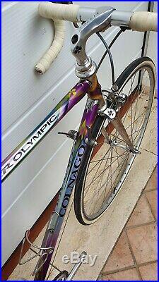 COLNAGO MASTER OLYMPIC DECOR vintage italian steel road bike SHIMANO DURA ACE 8s