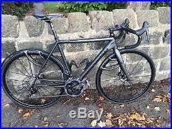 Cannondale CAAD10 Black Inc Disc Road Bike, Mavic Ksyrium Pro Wheels, Shimano