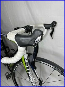 Cannondale Supersix 5 52cm Full Carbon Shimano 105 Road Bike Bicycle 2 X 10