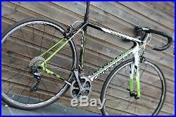 Cannondale Supersix Evo Hi Mod Dura Ace 9000 Carbon Bike 54cm Shimano RS81