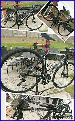 Cannondale Synapse AL Disc 105 2017 51cm Road / Gravel Bike Shimano 105 Black