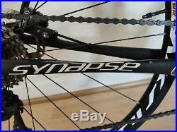 Cannondale Synapse Carbon Disc Ultegra 3 Road Bike with Shimano SPD 6800 pedals