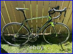 Cannondale Synapse Shimano 105 Carbon Shimano Wheels 56cm Road Bike Very Clean