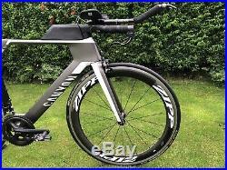 Canyon Speedmax CF Time Trial Carbon Road Bike Zipp Wheels Shimano 105