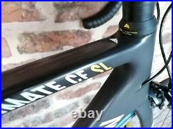 Canyon Ultimate CF SL F10 Road Carbon Bike sz M Shimano 105 Cosmic Elite 10 sp